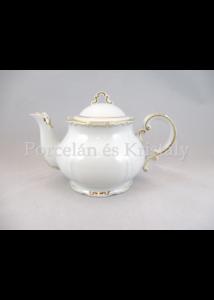 9335/6026 2 személyes teakanna fedővel tollrajzos, 500 ml