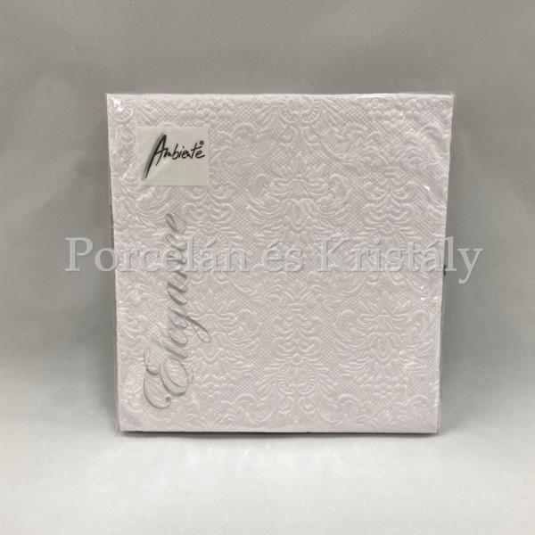 AMB.13306924 Elegance pearl lilac papírszalvéta 33x33cm, 15db-os