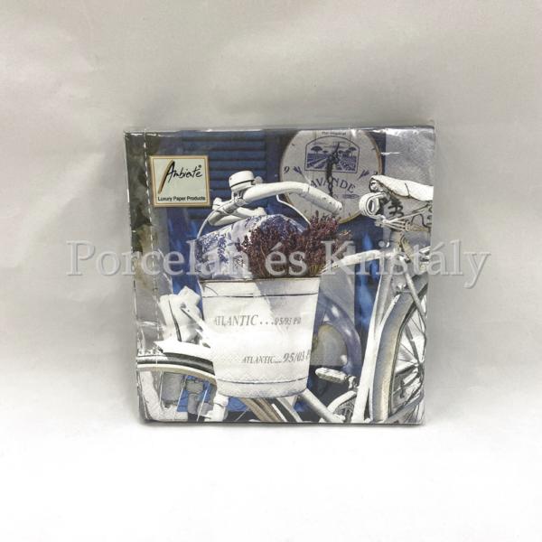 AMB.13308200 Summer Lavender papírszalvéta 33x33cm, 20db-os