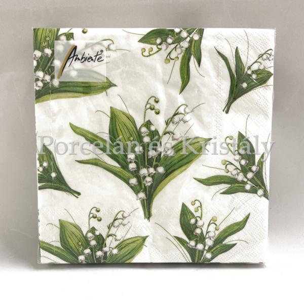 AMB.13308235 Lily papírszalvéta 33x33cm, 20db-os