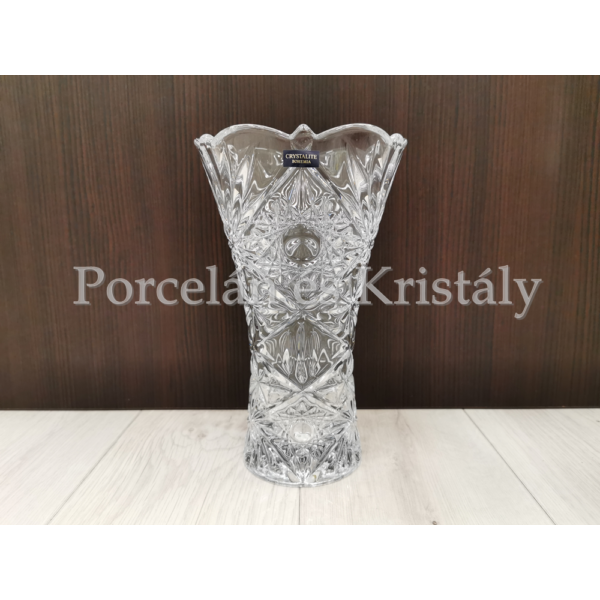 "89001/0/99018/250 Miranda ""X"" váza 25x14,5 cm"