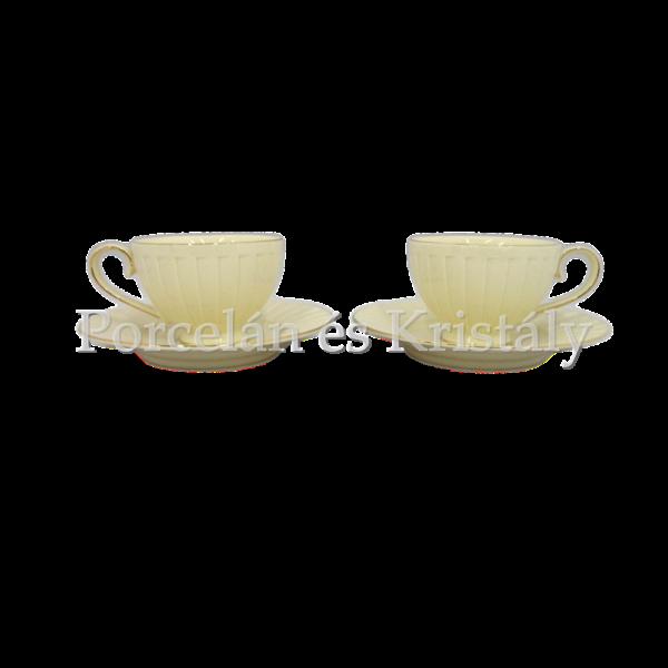 V.B.14887 Vanesa porceláncsésze szett 2 személyes, 4 részes, díszdobozban