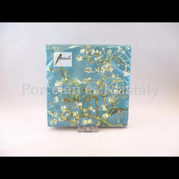 AMB.13306130 Papírszalvéta Van Gogh: Mandulavirágzás 33x33 cm, 20 db-os