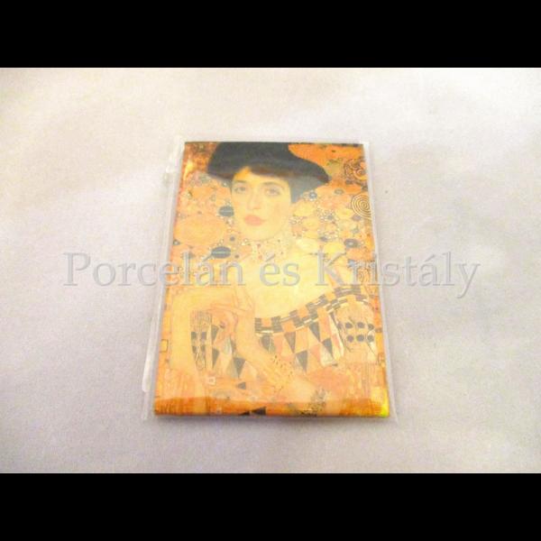 FRI.18313 Hűtőmágnes Klimt: Adél, 8x5,5 cm