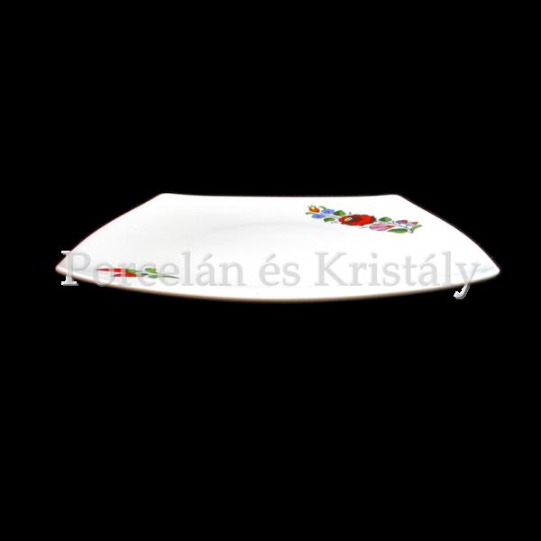 Kalocsai Hungarikum lapostányér 2x25x25cm