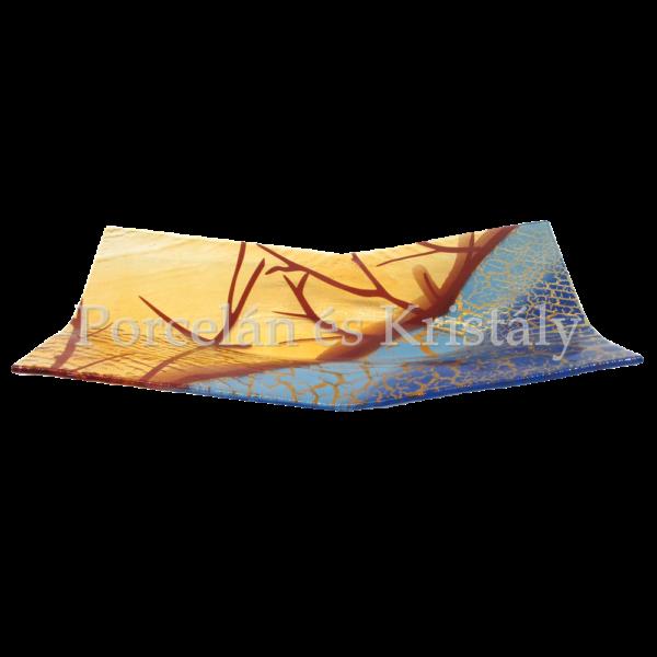 Blue Oasis Téglalap formájú tál 7x43x22 cm