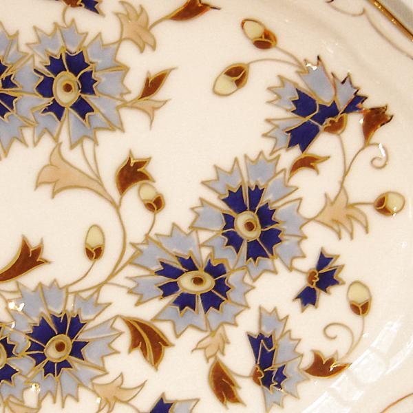 871/3/059 Váza búzavirágos, 34x15 cm