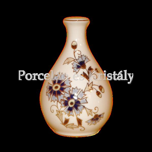 10082/0/059 Váza búzavirágos, 11x7 cm