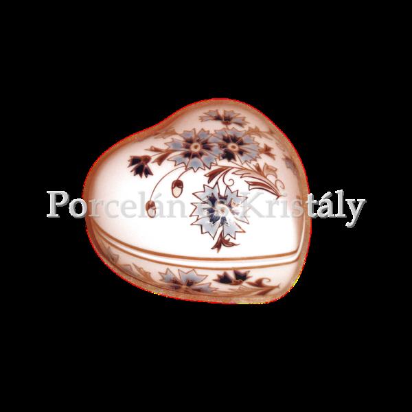 1046/2/059 Bonbonier búzavirágos, 7x11 cm