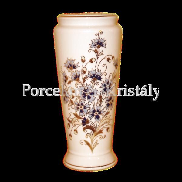 10490/2/059 Váza búzavirágos, 26x11 cm