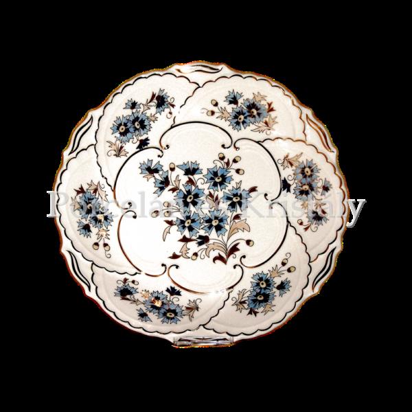 9269/059 Falitál búzavirágos, 30X3,5 cm