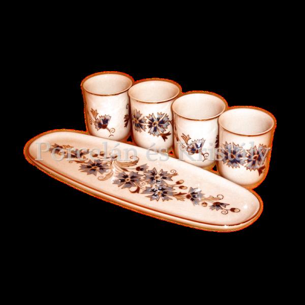 9335/059 Sake szett 5 részes búzavirágos
