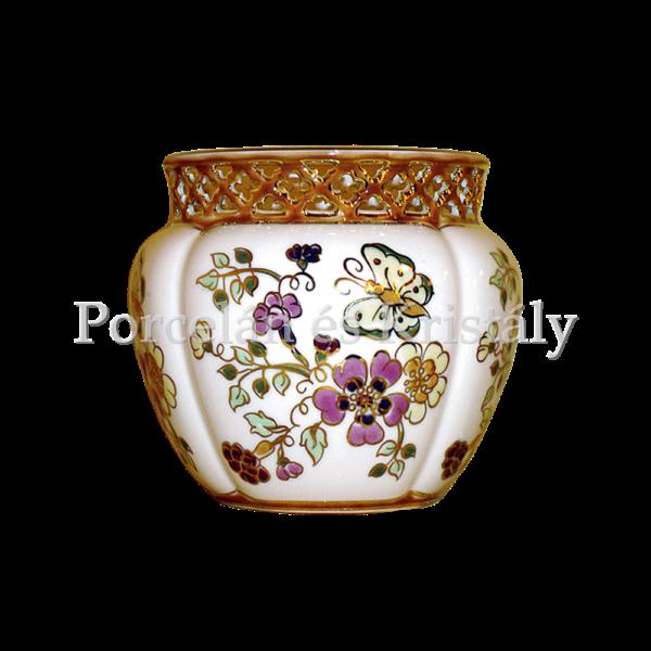 1064/4/026 Váza pillangós, 17x18 cm