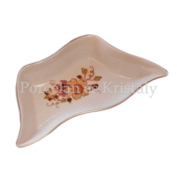 195/026 Trapéz kínálótál pillangós, 3x20x10 cm