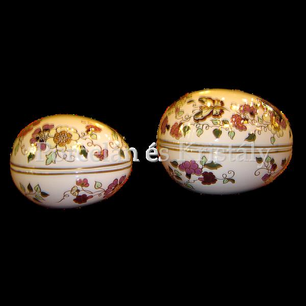 4881/1/026 Tojásbonbonier pillangós, 8x11 cm